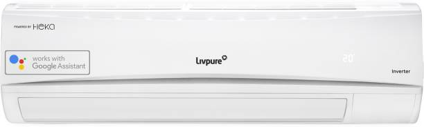 LIVPURE 1.5 Ton 3 Star Split Inverter Smart AC with Wi-fi Connect  - White