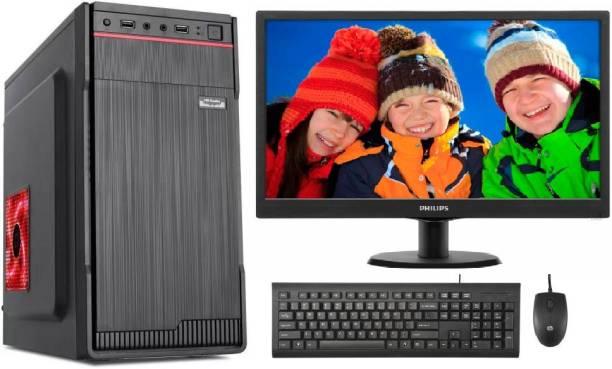 brozzo Z SERIES Core i5 (8 GB DDR3/500 GB/Windows 10 Pro/1 GB/18.5 Inch Screen/1GB ONBOARD INTEL GRAPHICS/WIN-10 & MS OFFICE)