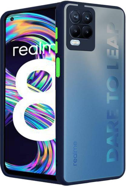 GoldKart Back Cover for Realme 8