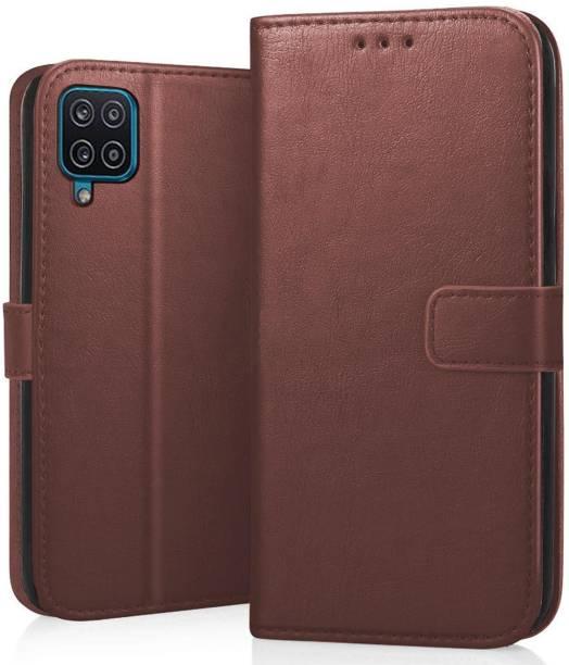 CEDO Flip Cover for Samsung Galaxy F12, Samsung Galaxy M12, Samsung Galaxy A12