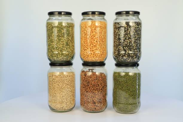 BESTAQUA 1000 ml glass jar  - 1000 ml Glass Grocery Container