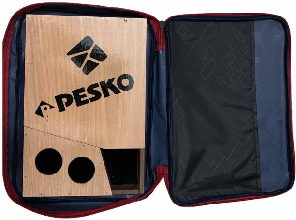 Pesko Table Tennis Bat Cover With Wooden Case (Pack Of 1) Racquet Carry Case/Cover XL