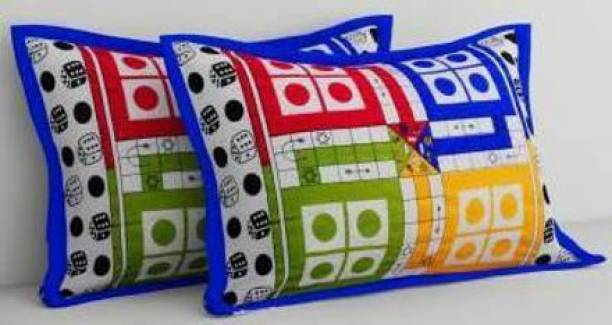 Flipkart SmartBuy Geometric Pillows Cover