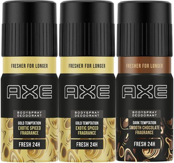 AXE Gold and Dark Temptation Deodorant Spray  -  For Men