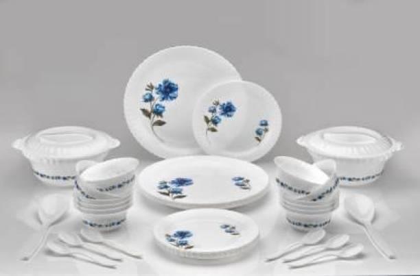 BRINIDH Pack of 36 Plastic Dinner Set