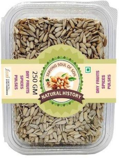 natural history Brand- Premium Sunflower Seeds 250 Gm (Pack Of 1 )