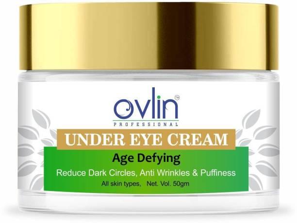 Ovlin Age Defying Under Eye Cream For Reducing Dark Circles & Wrinkles
