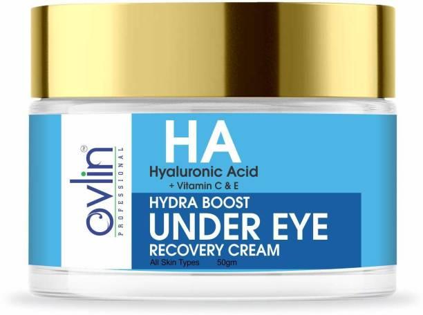 Ovlin Hyaluronic Acid & Vitamin C, E Hydra Boost Under Eye Recovery Cream