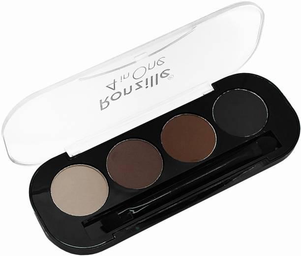 RONZILLE Eyebrow enhancer powder palette with brush 10 g