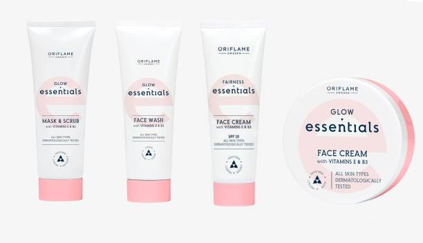 Oriflame Sweden Glow Essentials Face Combo Set of 4