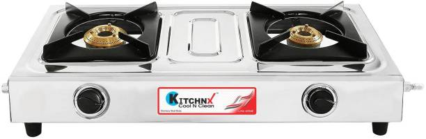 Kitchnx Super Smart Stainless Steel Manual Gas Stove