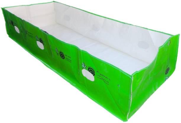 Greeno Biotech 450GSM HDPE UV Stabilized, Vermi bed(10ft X 4ft X 2ft) Grow Bag
