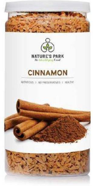 Nature's Park Cinnamon Flakes, Finest Dalchini for Cooking,Good for Weight Loss (Pet Jar)