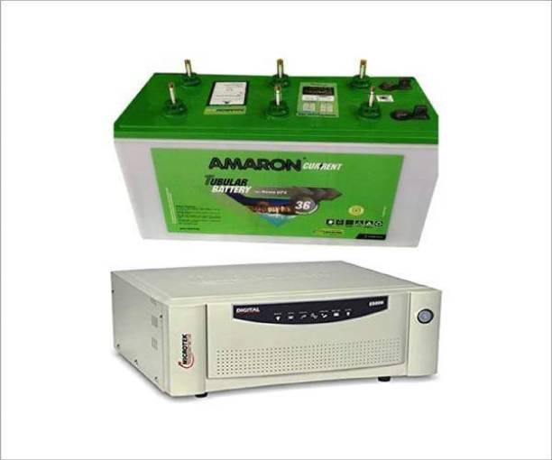 amaron AR135ST36 Tubular +EB700 Tubular Inverter Battery