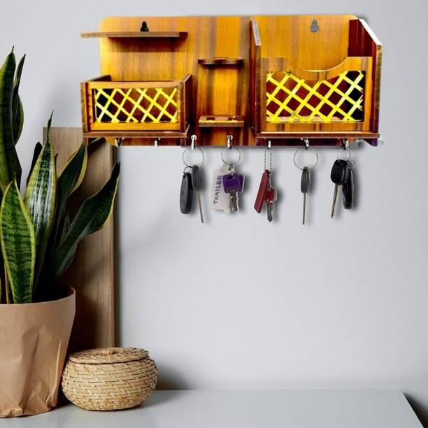 Dinine Craft Wood Key Holder