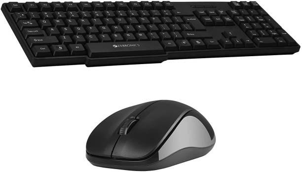 ZEBRONICS COMPANION-107 Wireless Laptop Keyboard