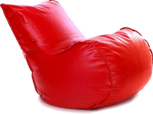 STYLE HOMEZ Lounger Leatherette XL Standard Kid Bean Bag