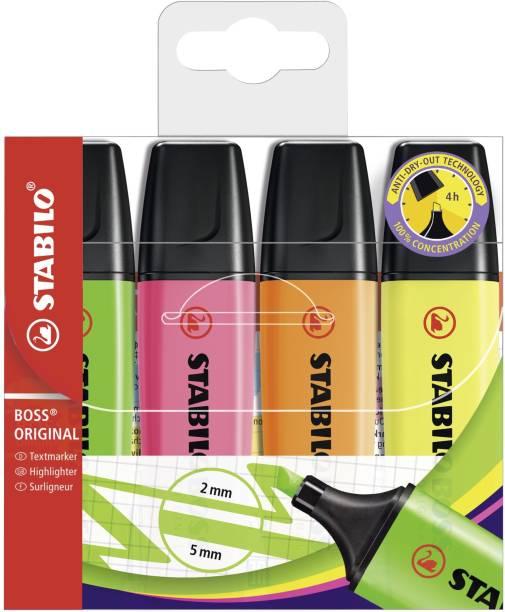 Stabilo BOSS ORIGINAL - Highlighter Pen - 70/4