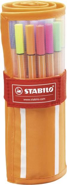 Stabilo point 88 - Fineliner Pen - 25 standard & 5 Neon - 8830-2