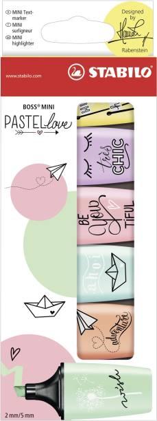 Stabilo BOSS MINI Pastellove - Highlighter Pen - 07/06-27