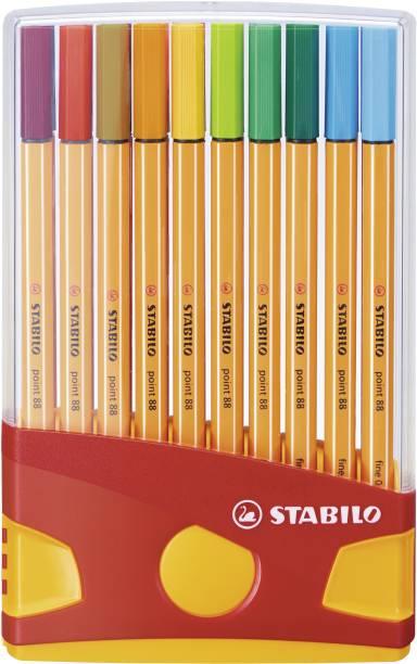 Stabilo point 88 - Fineliner Pen - Desk Set - 8820-03