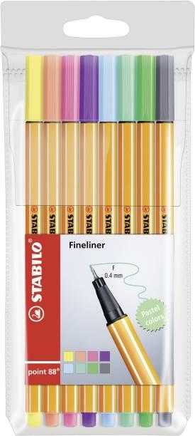 Stabilo point 88 Pastel Colours - Fineliner Pen - 88/8-01