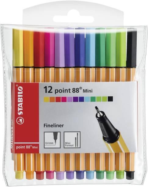 Stabilo point 88 Mini - Fineliner Pen - 688/12-1