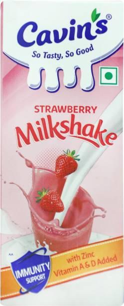 Cavin's Strawberry Milkshake
