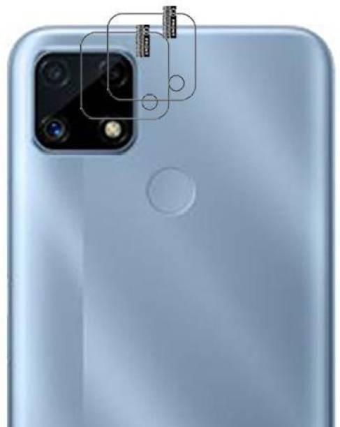 hirdesh Back Camera Lens Glass Protector for Realme C25 LENS