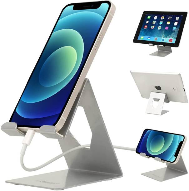 Soopii by SooPi Desktop Mobile Stand + Tablet Stand, Perfect Viewing Angle Unbreakable Strong Metal Tablet / Mobile Stand Mobile Holder (Use Device Up to 12 inch Screen) Mobile Holder Mobile Holder