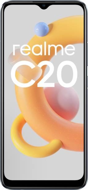 realme C20 (Cool Grey, 32 GB)