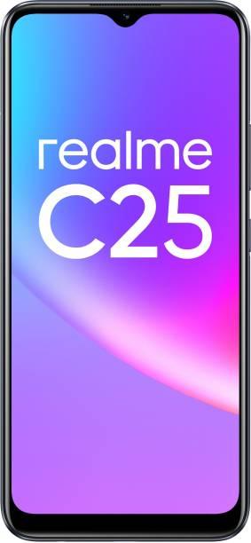 realme C25 (Watery Grey, 128 GB)
