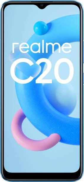 realme C20 (Cool Blue, 32 GB)