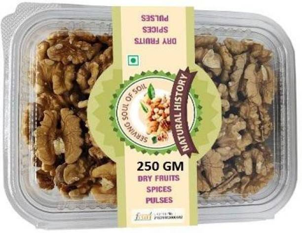 natural history Brand - Walnut Without Shell 250 Gm (Pack Of 1 ) Walnuts
