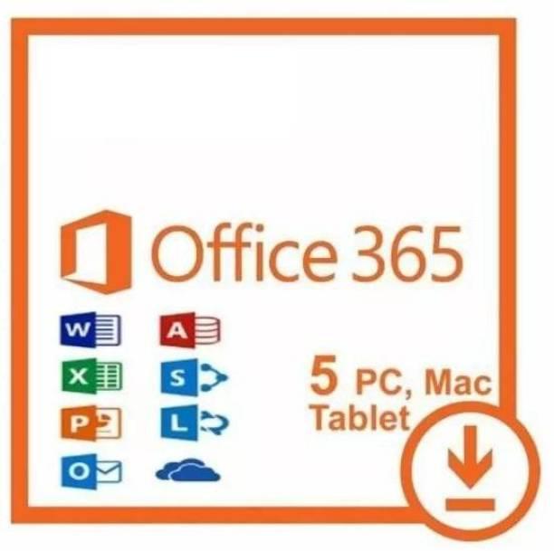 MICROSOFT OFFICE 365 PRO PLUS 2019 ACCOUNT LIFETIME 5 DEVICES 5TB CLOUD PC/MAC