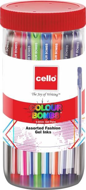 cello Colour Bombs Gel Pen