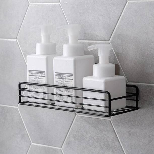 INKULTURE Metal Multipurpose Kitchen Bathroom Shelf Steel Wall Shelf