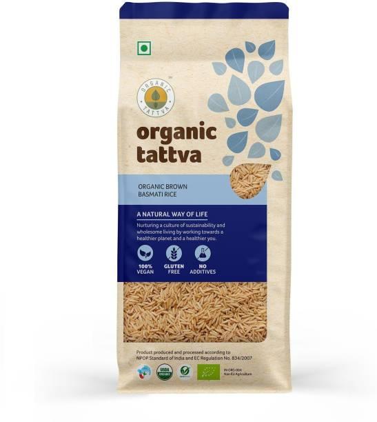 Organic Tattva Brown Basmati 1Kg Basmati Rice