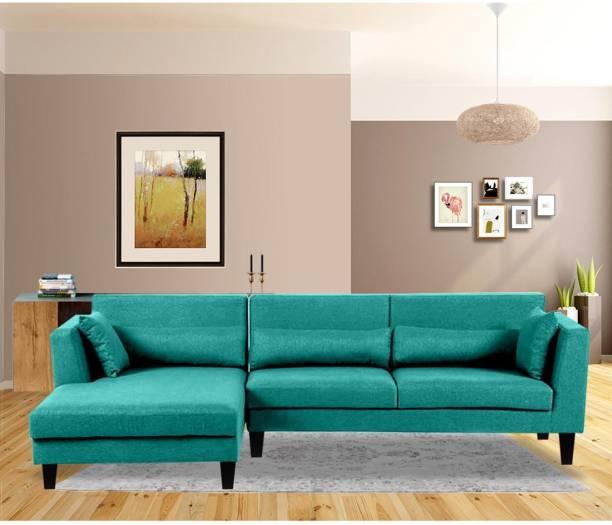 Flipkart Perfect Homes Simone Fabric 5 Seater  Sofa