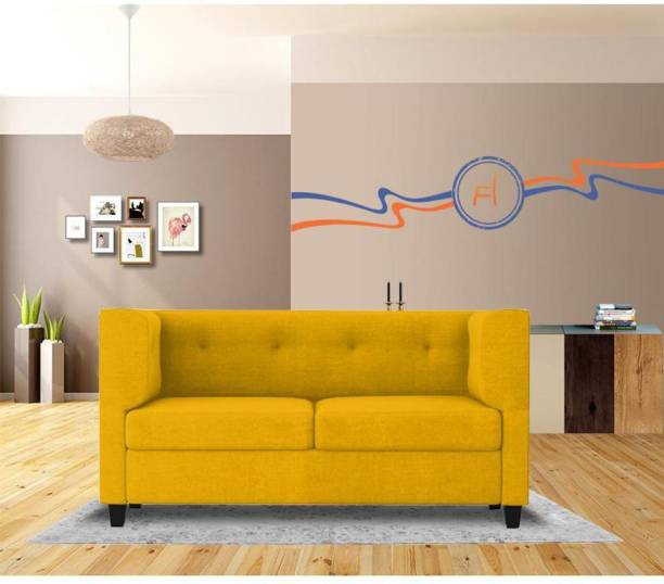 Flipkart Perfect Homes Benny Fabric 2 Seater  Sofa
