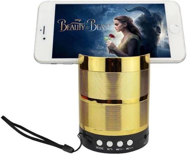 wazny 887ws Mini Wireless Metal Small Speaker Body Stereo With LED Light Bluetooth Laptop/Desktop Speaker ,Megabass Music j!2BluettothSpeaker 10 W Bluetooth Speaker