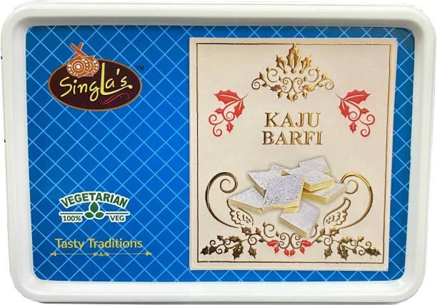 Singla Sweets Kaju Katli 250g Barfi Best Quality Delicious Sweets Box