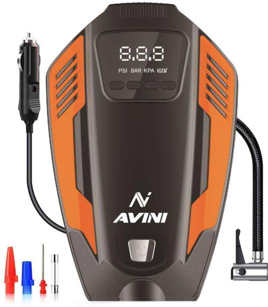 Avini 150 psi Tyre Air Pump for Car & Bike