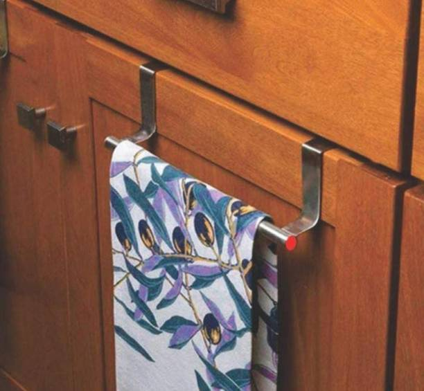 Gambit Stainless Steel Towel Hanger for Bathroom/Towel Rod/Bar/Bathroom Accessories silver Towel Holder