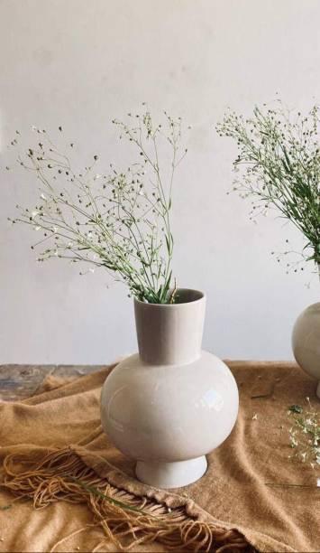 Craftribal Flower Vase Glossy Finish Ceramic Vase
