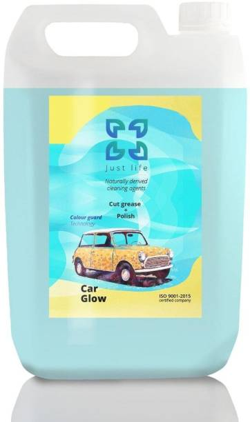 Just Life Car Glow Washing Liquid (5000 ml) Car Washing Liquid