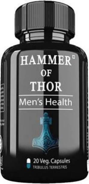 DR. CHOPRA PHARMACLS Hammer Of Thor Ayurvedic 60 Capsules (60 Capsules) (Pack Of 1)
