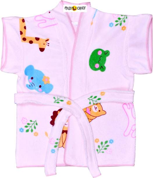 Miss & Chief Pink Small Bath Robe