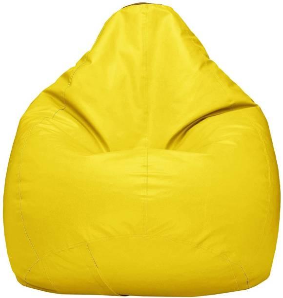 Flipkart Perfect Homes Studio XXL Tear Drop Bean Bag Cover  (Without Beans)