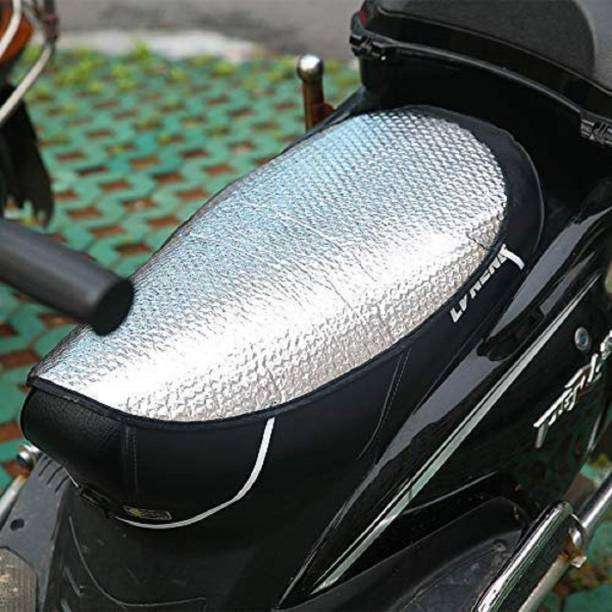 Feeling mall Motorcycle/Scooty Sun Shade Bike Seat Cover for Honda Activa - Set of 2 Single Bike Seat Cover For NA NA